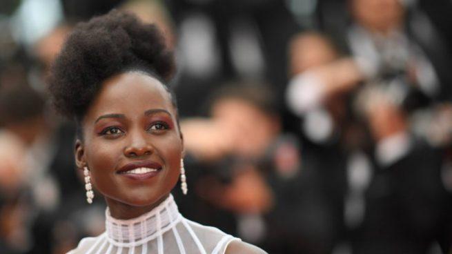 La actriz Lupita Nyong'o en Cannes. Foto: AFP