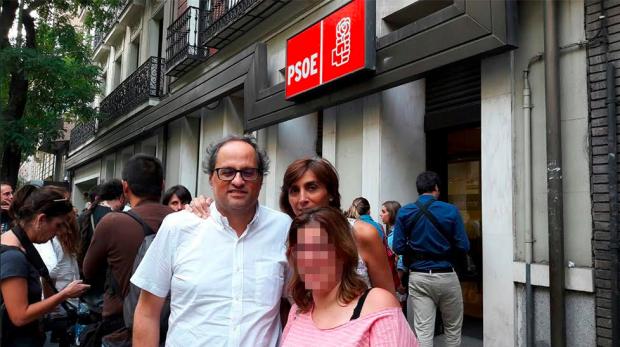 Torra hizo 'campaña' contra Susana Díaz en su lucha con Sánchez por liderar el PSOE