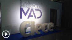 Clece recibe más de 2.000 solicitudes de empleo en Laboral MAD