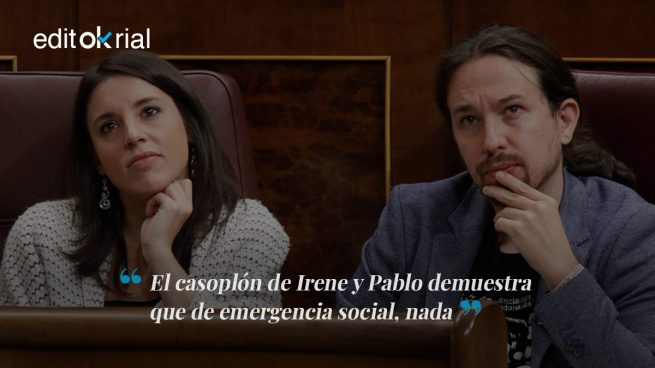 La 'emergencia social' de Irene y Pablo