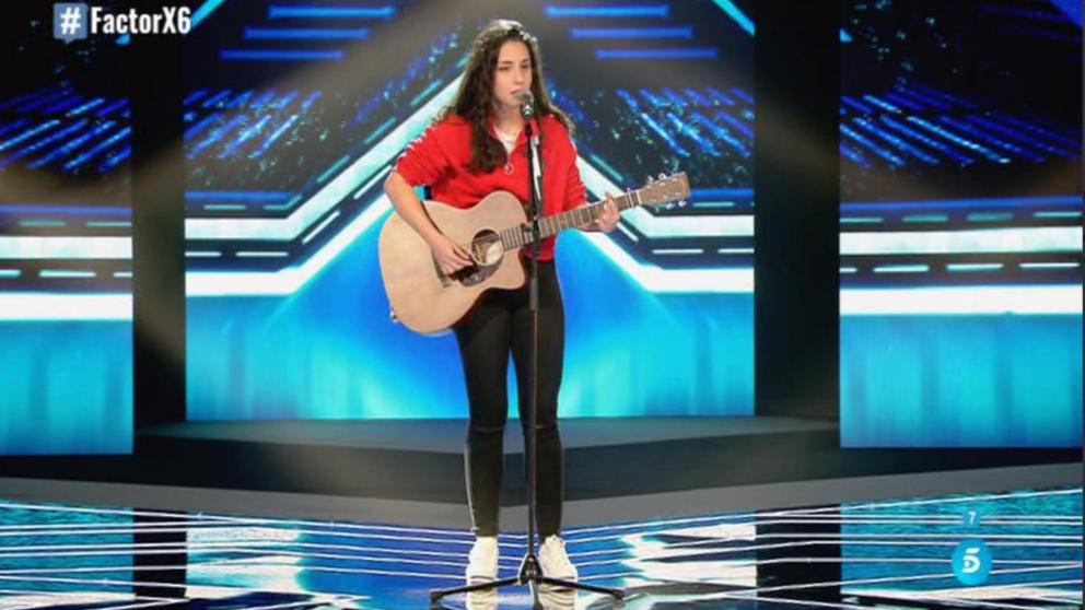 Elena Farga una de las chicas de Risto en 'Factor X'