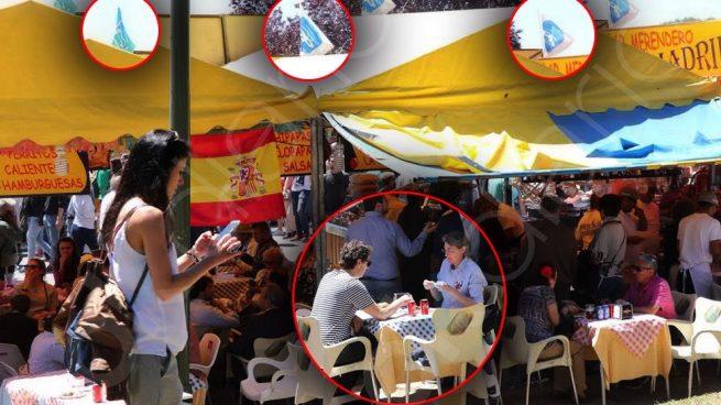 La nº 2 y el jefe de gabinete de Carmena almorzaron en la caseta del PP por San Isidro