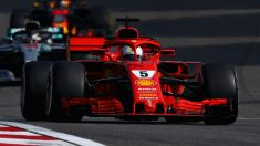 El bajón protagonizado por Ferrari en Montmeló ha hecho saltar todas las alarmas en Maranello, haciendo ver que el SF71H debe acelerar su desarrollo si quiere aspirar al mundial. (Getty)