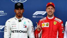 Lewis Hamilton y Sebastian Vettel se ha unido a la hora de criticar a la FIA por los planes de ésta de hacer los monoplazas más lentos el año que viene con el fin de facilitar los adelantamientos. (Getty)