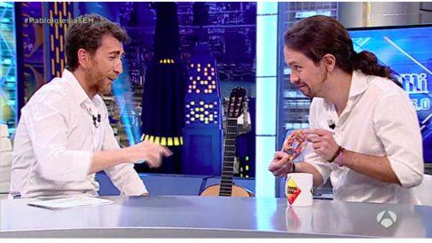 Pablo Iglesias, en El Hormiguero, de Antena 3.