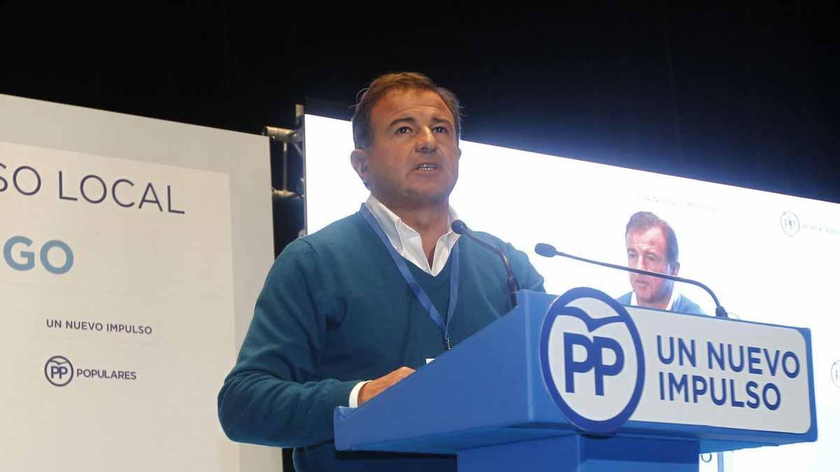 Javier Guerra, del Partido Popular de Vigo