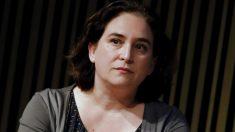La alcaldesa Ada Colau en un acto público. (Foto. Barcelona)