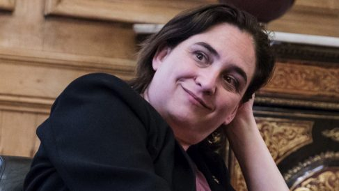 La alcaldesa de Barcelona, Ada Colau. (Foto. Barcelona)