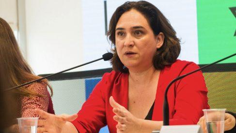 La alcaldesa catalana Ada Colau. (Foto. Barcelona)