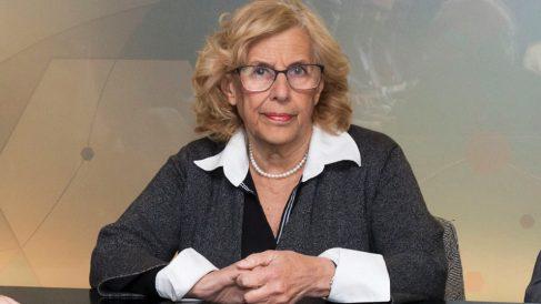 La alcaldesa Manuela Carmena. (Foto. Madrid)