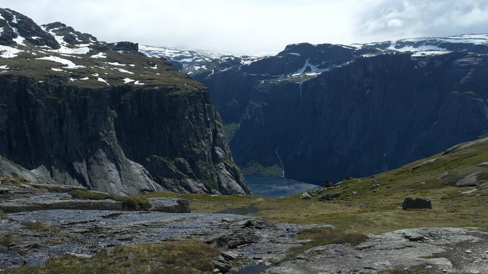La lengua de troll, uno de los atractivos noruegos.
