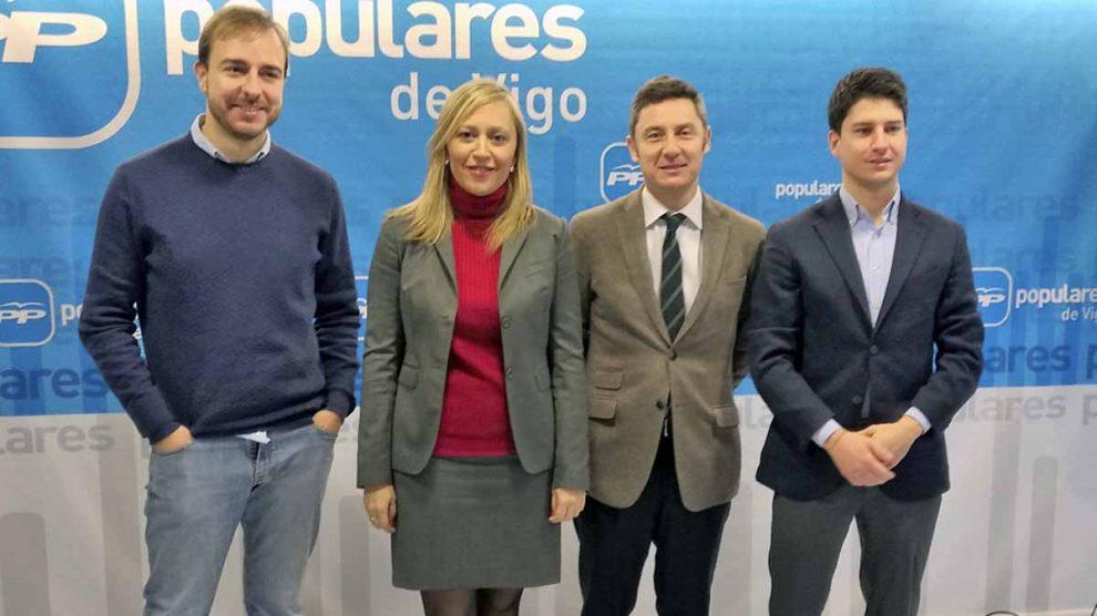 Elena Muñoz, presidenta del PP de Vigo.