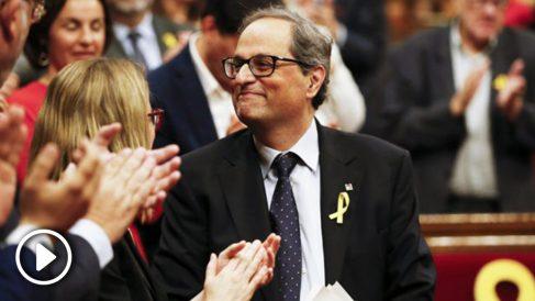 El presidente de la Generalitat, Quim Torra. (Foto: AFP)