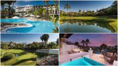 Varias imágens del Westin La Quinta, hotel en el que se aloja el Liverpool.