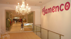Una de las tiendas de Flamenco en Madrid. (Foto. Pinterest)