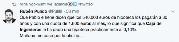El banco del hipotecazo a Iglesias gestiona la caja de resistencia de las golpistas ANC y Òmnium