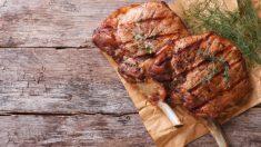 Receta de chuletas de cerdo a la provenzal fácil de preparar