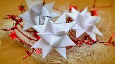 Aprende cómo hacer estrellas de papel de manera fácil