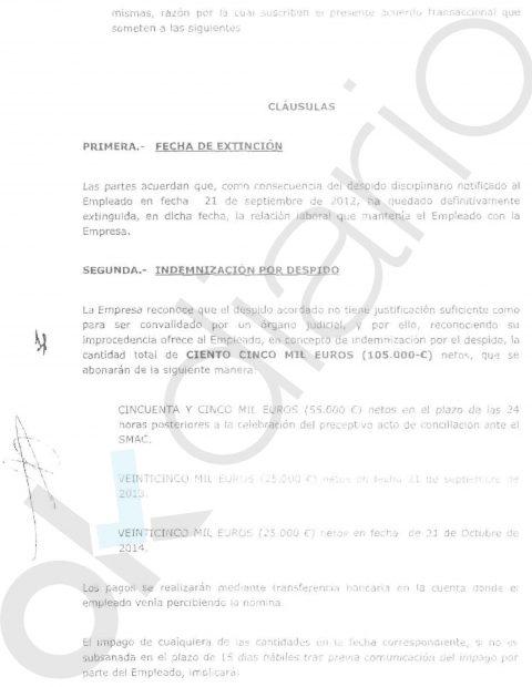 La Cardenal Cisneros despidió al 'denunciante' de Casado por enchufar a su hija y por contratos irregulares