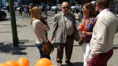 El profesor Alberto Pérez de Vargas, en un acto organizado por Ciudadanos.