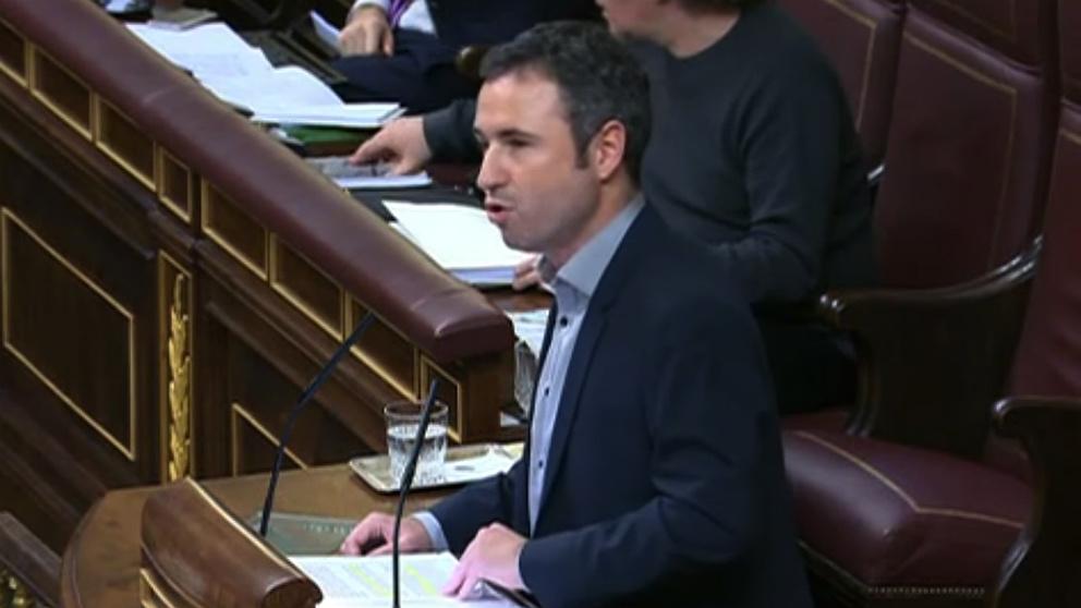 El diputado andaluz de CS Guillermo Díaz.