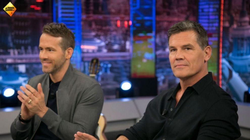 Ryan Reynolds y Josh Brolin presentan 'Deadpool 2' en 'El Hormiguero'