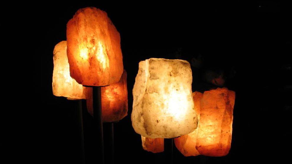 Lámparas de sal: ¿Realmente son beneficiosas o son un timo?