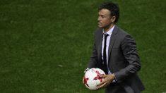 Luis Enrique espera firmar ya con el Chelsea (AFP)