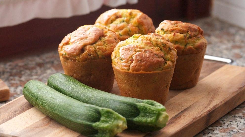Receta de Muffins de calabacín y zanahoria fáciles de preparar