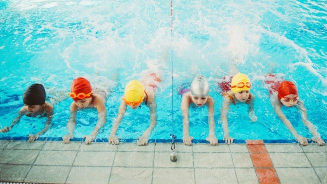 natacion niños