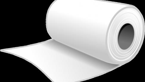 El papel higiénico, un producto de primera necesidad.