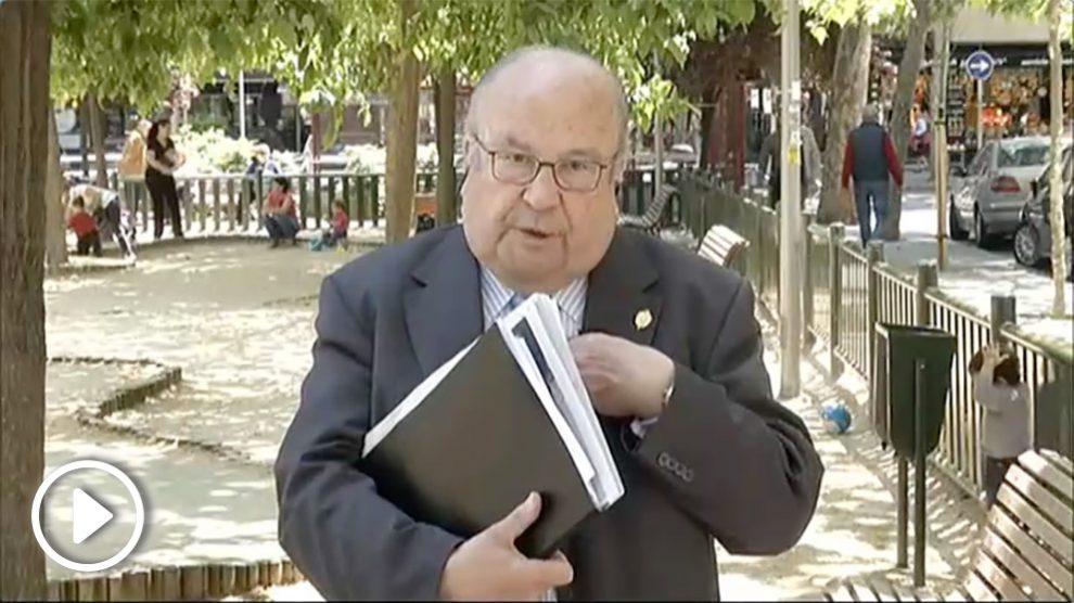 El ex director del centro de estudios Cardenal Cisneros Alberto Pérez de Vargas.