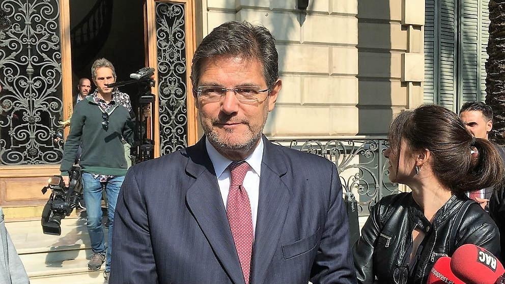 El ministro de Justicia, Rafael Catalá. (EP)