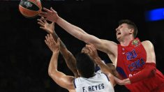 Felipe Reyes tendrá una nueva batalla contra las torres del CSKA en una Final Four. (AFP)