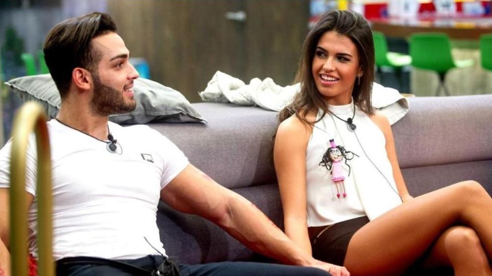Sofía y Ricky en 'Gran Hermano' antes de 'Supervivientes 2018'