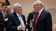 Jean-Claude Juncker y Donald Trump. (Foto: GETTY)