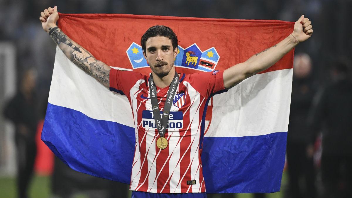 El United quiere a Vrsaljko (AFP)