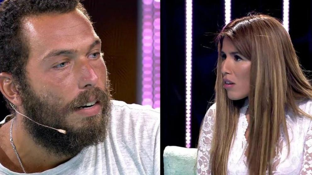 Alberto Isla e Isa Pantoja en 'Supervivientes 2018'
