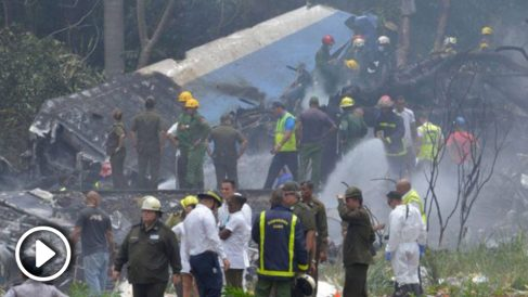Se estrella un avión de pasajeros cuando despegaba en el aeropuerto de La Habana