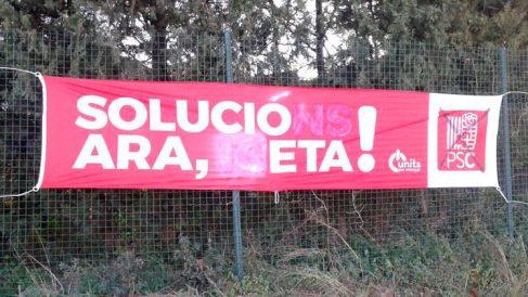 La Autónoma de Barcelona permite una fiesta en la que se colgaron carteles proetarras