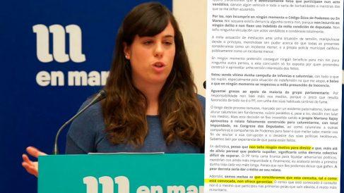 Paula Quinteiro, diputada de Podemos-En Marea en Galicia