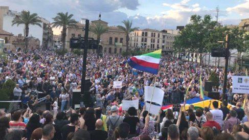 Manifestación en Linares (Jaén)