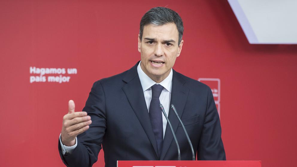 Pedro Sánchez, secretario general del PSOE. (Foto: PSOE)   Sentencia Caso Gürtel