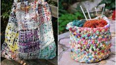 Pasos para reutilizar las bolsas de plástico