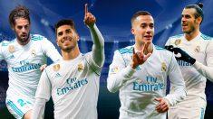 Isco, Lucas Vázquez, Asensio y Bale se juegan un puesto para la final de la Champions League en Kiev.
