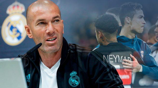 """Zidane: """"¿Neymar? Después de la final hablamos"""""""