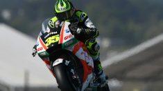 Crutchlow durante el Gran Premio de Francia. (AFP)