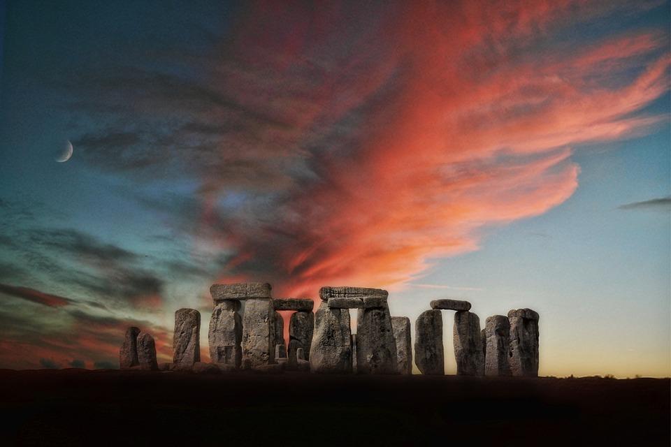 Stone Henge, entre la Edad de Piedra y la Edad de los Metales.