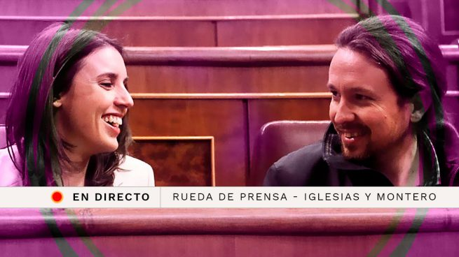 En directo: rueda de prensa de Pablo Iglesias e Irene Montero