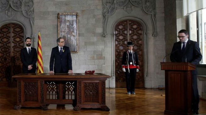 Torra visita por segunda vez a los políticos presos de Estremera